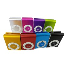 Portable MP3 Player Mini Clip MP3 Player Waterproof Sport Mp