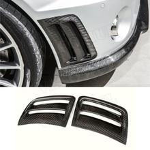 C Класс углеродного волокна переднего бампера боковые вентиляционные отверстия наклейки для Benz W204 C63 AMG 2008-2011 FRP крылья вентиляционные отверстия панели планки чехлы