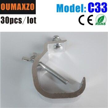 30pcs/lot stage lighting light hook/aluminium clamps for led par moving head Aluminium clamps for led par moving head Truss