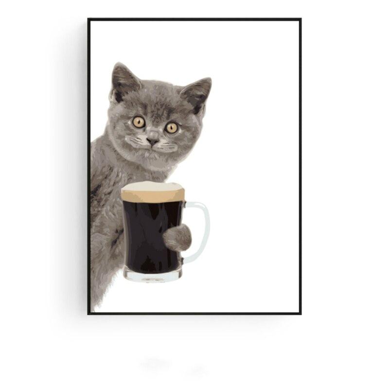 8300 Gambar Hewan Kucing Mewarnai Terbaru