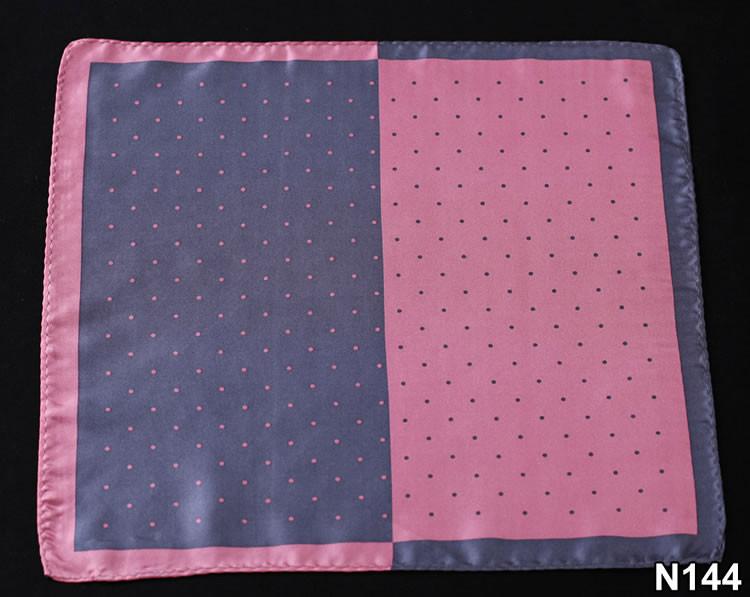 N144 HN14K Pink Gray Polka Dot 33cm