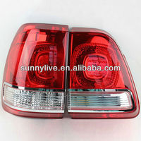 For Land Cruiser LC100 4700 FJ100 LED Tail Lamp 1998 2007 Year Red White Color V6