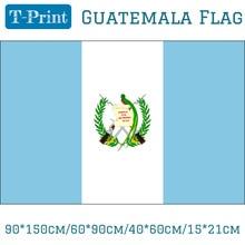Free shipping 90*150cm/60*90cm/40*60cm/15*21cm Republica De Guatemala Flag 3*5 Feet Polyester
