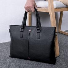 Брендовый мужской портфель baqi мужские сумки из натуральной