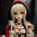 Oueneifs risse fairyland minifee bjd sd 1/4 do corpo do corpo da menina do menino modelo toys loja make dos olhos das bonecas reborn meninas meninos de alta qualidade up