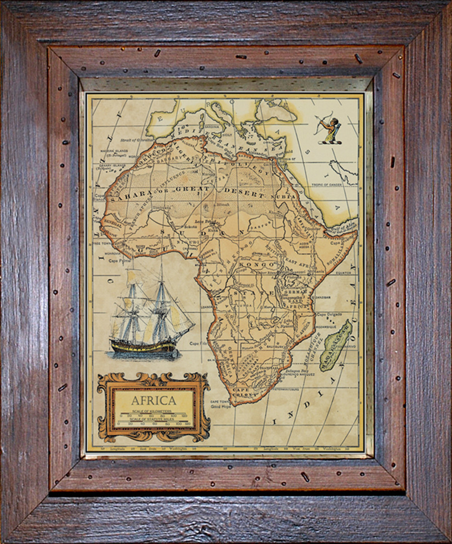 aliexpresscom buy vannodee old map woods frame house decro classical decorating painting wall painting map of africa 118138in from reliable painting