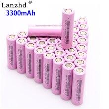 40 PCS 18650 3.7 V INR18650 batterie Ricaricabili agli ioni di litio li 3.7 v 30a corrente di grandi dimensioni 18650VTC7 18650 batteria