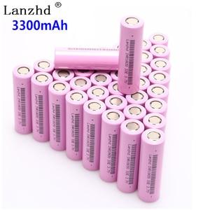 Image 1 - 40PCS 18650 3.7V INR18650 Rechargeable batteries lithium li ion 3.7v 30a large current 18650VTC7 18650 battery