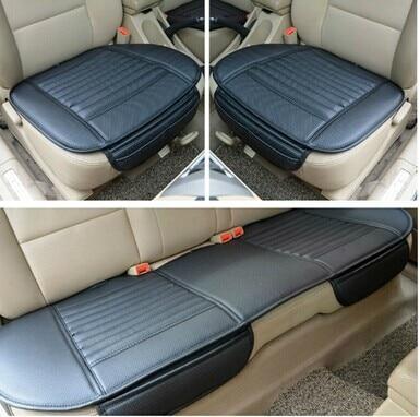 Juego de piezas de cojín de asiento de coche asiento de coche carbón de bambú 307 308 408 508 3008 301 ix25 ix35 RAV4 k5 k3 cojín de asiento