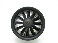 RC Fixed wing plane 64mm 12 blade Ducted fan engine set with 6S 1900KV 4S 3000KV motor