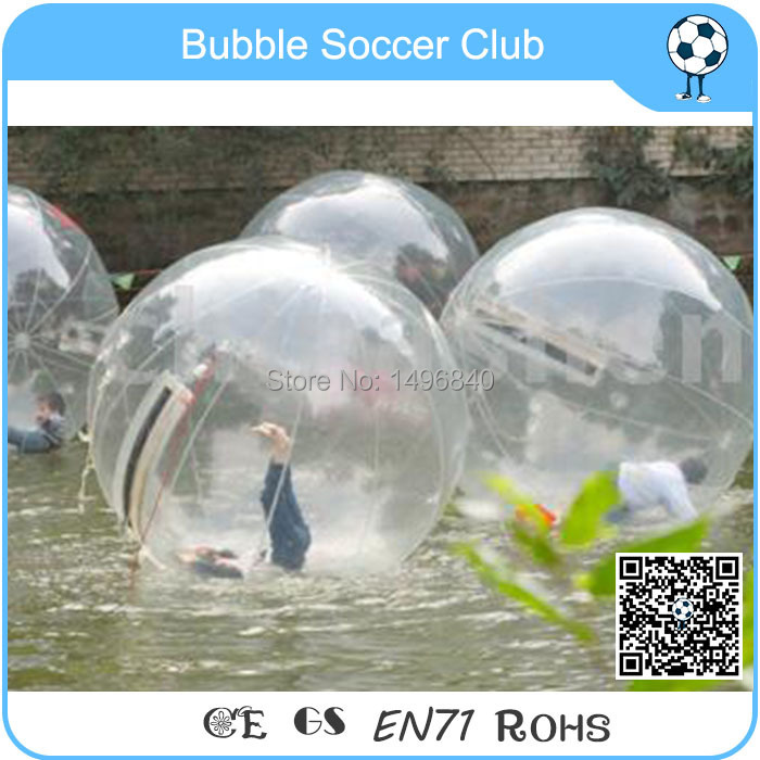 Free Shipping Logo printed 1.0mm TPU thickness walking ball,walking water ball,inflatable water bubble water walking ball 2m tpu water blasters water football water absorbent polymer