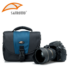 Safrotto Good Quality DSLR Leisure Outdoor Photographic Case Protector Waterproof Light Camera Shoulder Bags For Canon Nikon SLR