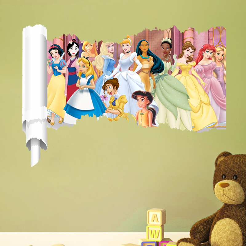 Unique Princess Wall Decorations Pictures - Wall Art Collections ...