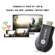 Hot AnyCast TV Stick  Wireless DLNA Airplay Dongle TV Stick Push Chrome cast Wifi Display Receiver  MINI PC Android Media Player