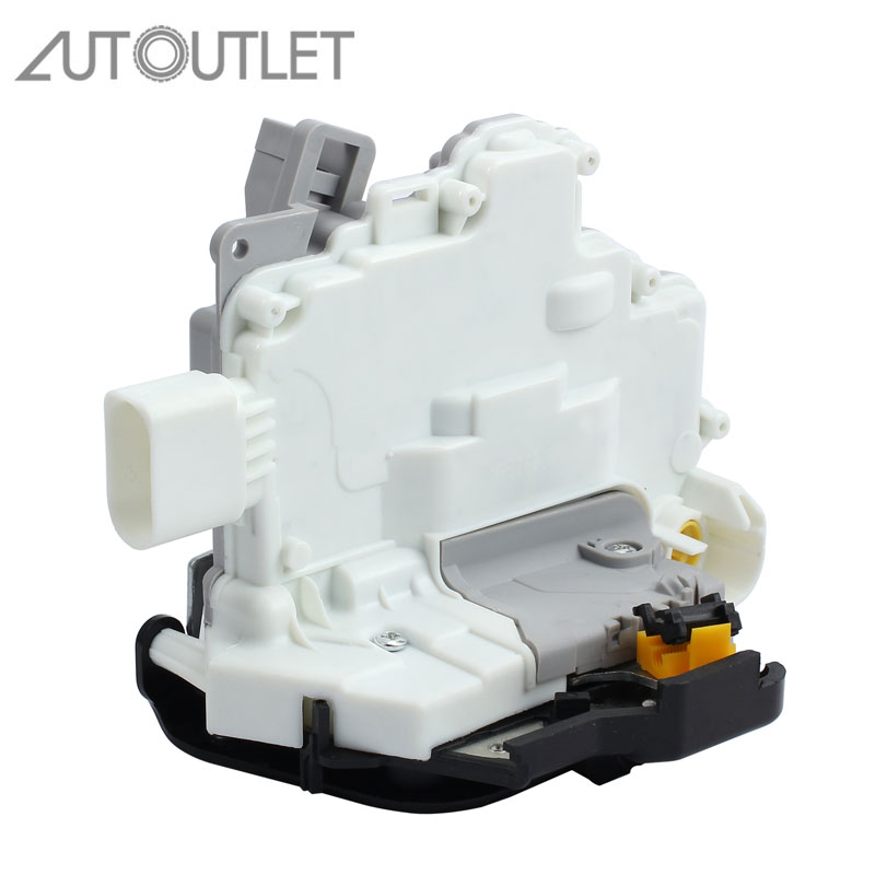 Actionneur de verrouillage de porte automatique avant gauche pour 4F1837015 actionneur de verrouillage de porte verrouillage central VL pour AUDI