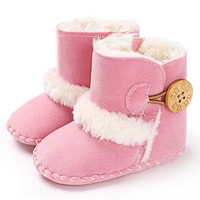 Children S Snow Boots 2017 Winter New Anti Flannel Baby Shoes Elasticated Thick Children S Shoes