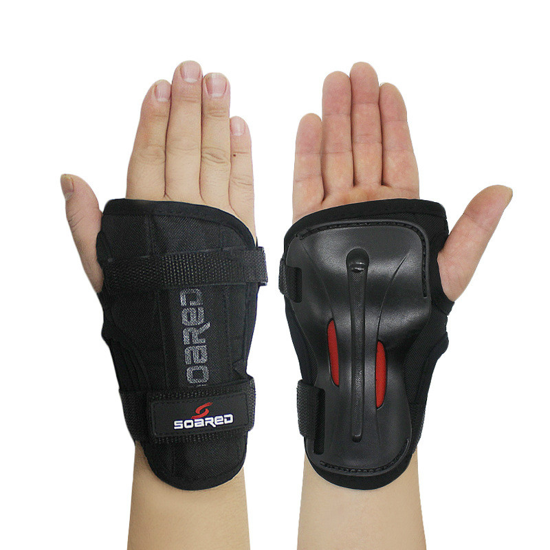 SOARED Wrist Guards Support Palm Pads Protector For Inline Skating Ski Snowboard Roller Gear Protection Men Women Hand Protector цены онлайн
