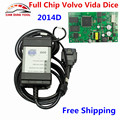 Best Quality For Volvo Vida Dice 2014D Full Chip OBD2 Diagnostic Tool Vida Dice Pro For Volvo With Green PCB Board Free Ship