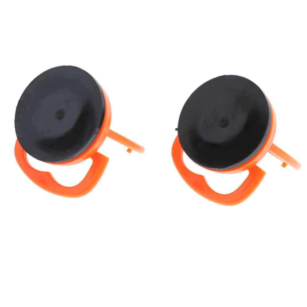 2 قطعة شفط الكؤوس البرتقال دائم شفط كأس المصاصون للهاتف المحمول شاشة الزجاج رفع فراغ قوي شفط كأس أدوات يدوية
