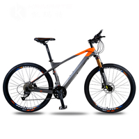 26inch Carbon Fiber Mountain Bike 27 And 30 Speed Mountain Bicycle Hydraulic Oil Double Disc Brakes