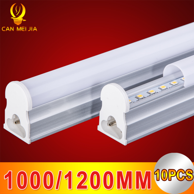 10pcs/lot Led Tube T5 1000mm 1200mm 3ft 4ft T5 Led Tube Light Wall Lamp SMD 2835 5730 5W 14W 15W 18W 220V For Home Light ...