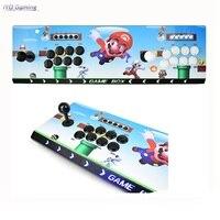 Pandora 10 аркадная коробка 2297 44 * 3D игры Нулевая задержка 8 кнопок джойстик 2 плеера Процессорная плата Ретро игровой автомат