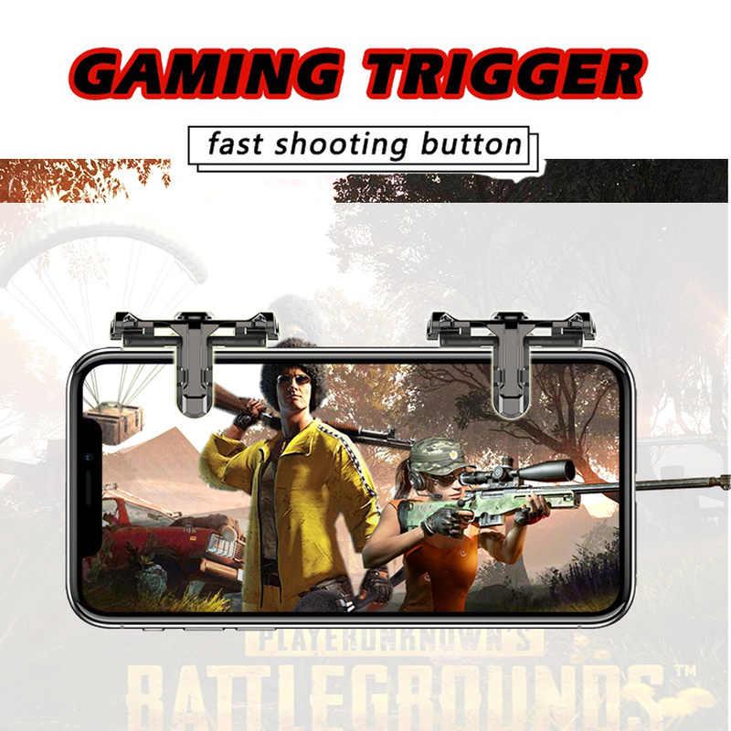 Для PUBG мобильных игр триггер L1R1 кнопку Игры шутер контроллер мобильных игр V3.0 смартфон для телефона/ipad Xiaomi