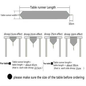 Image 5 - Nordic Modern Minimalist Style Table Runner Japanese TV Cabinet Long Tables Coffee Table Bed Flag Cotton and Linen Chemin De Tab