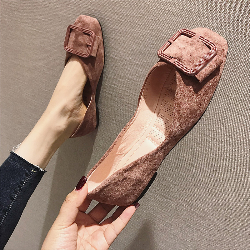 2019 Ins Fashion Flats for Women Boat Shoes Luxury Brand Office Ladies Shoes Slip-on Woman Flats Plus Size A13082019 Ins Fashion Flats for Women Boat Shoes Luxury Brand Office Ladies Shoes Slip-on Woman Flats Plus Size A1308