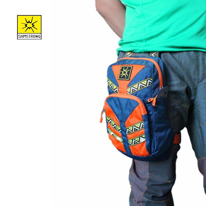4f89a1156e Samstrong Waist Satchel Multifunctional Bag Leg Bactics Sport Camping Backpack  Mini Backpack Men and women sports leg pack