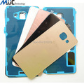 New Back Door Housing Rear Glass Battery Cover + Adhesive For Samsung Galaxy A3 A310 2016 A5 A510 A7 A710 Back Case Cover