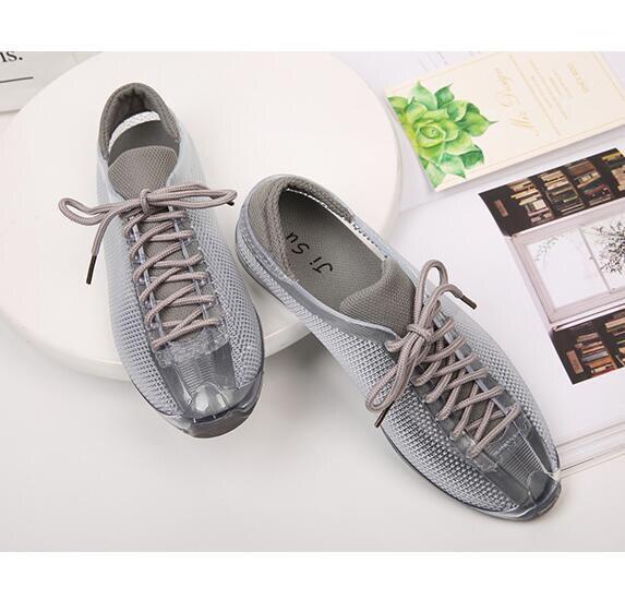 Verano Nuevos zapatos Transpirables Zapatos de Las Mujeres Hueco Zapatos de Los