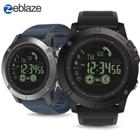 Hot Zeblaze VIBE 3 Flagship Rugged Smartwatch 33 month Standby Time 24h All Weather Monitoring Smart Watch For IOS Android Watch