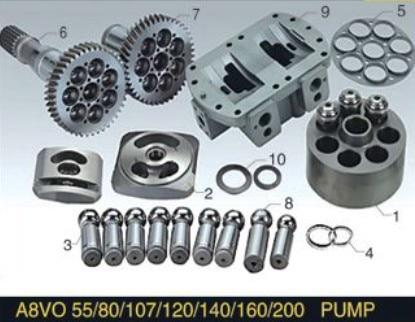 все цены на Replacement Rexroth Piston Pump Parts A8VO55 Plunger Pump cylinder block valve plate spare parts онлайн