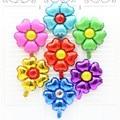 Patrón de flores de decoración con globos Juguetes inflables para niños de las pc color al azar