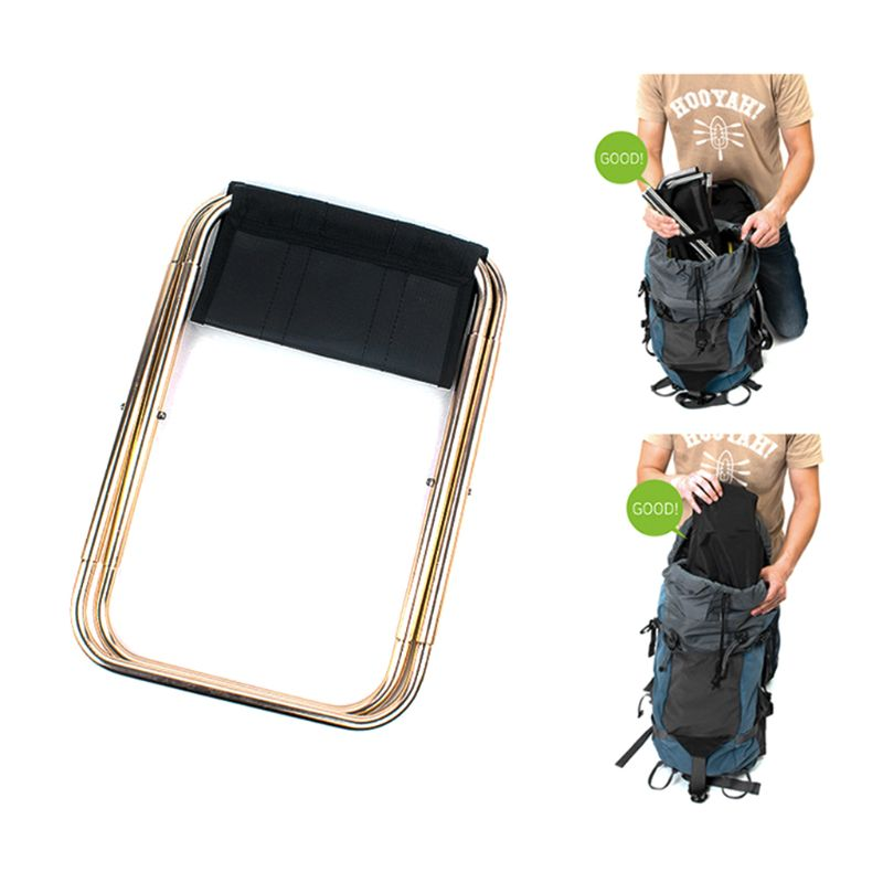 1 Pc Quality Outdoor Foldable Fishing Chair Ultra Light Weight Portable Folding Camping  Picnic With Bag