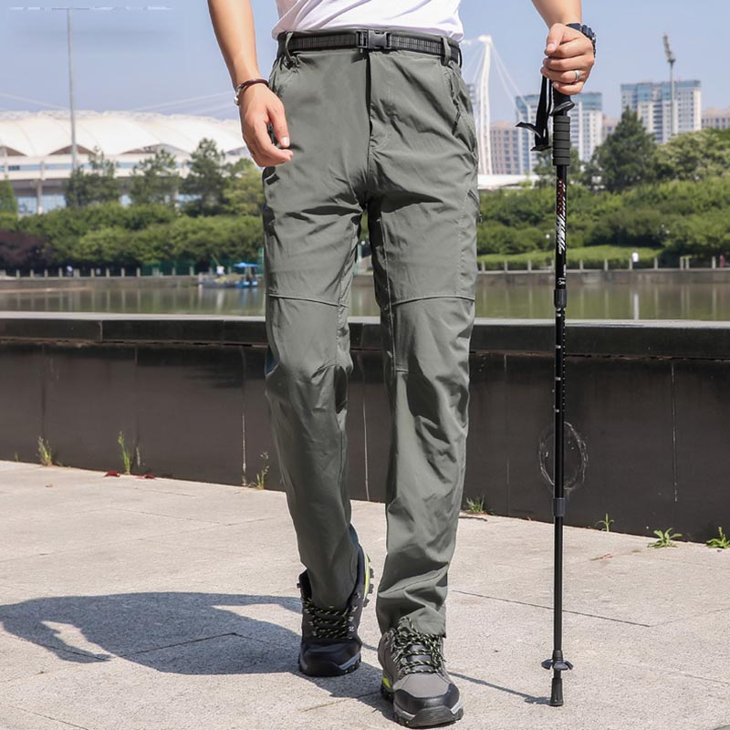 2019 Summer Quick dry Pants Men Stretch Waterproof Breathable Anti-UV Leisure Trousers Outdoor Sports Camping Trekking Pants