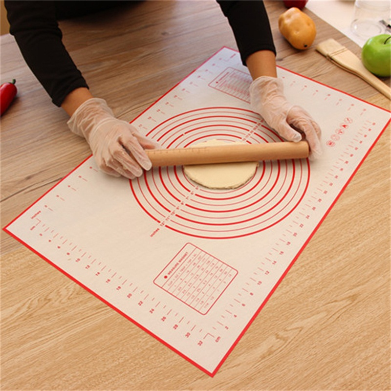Ex-large Silicone Baking Mat Pizza Dough Maker Pastry Kitchen Gadgets Cooking Tools Utensils Bakeware Accessories
