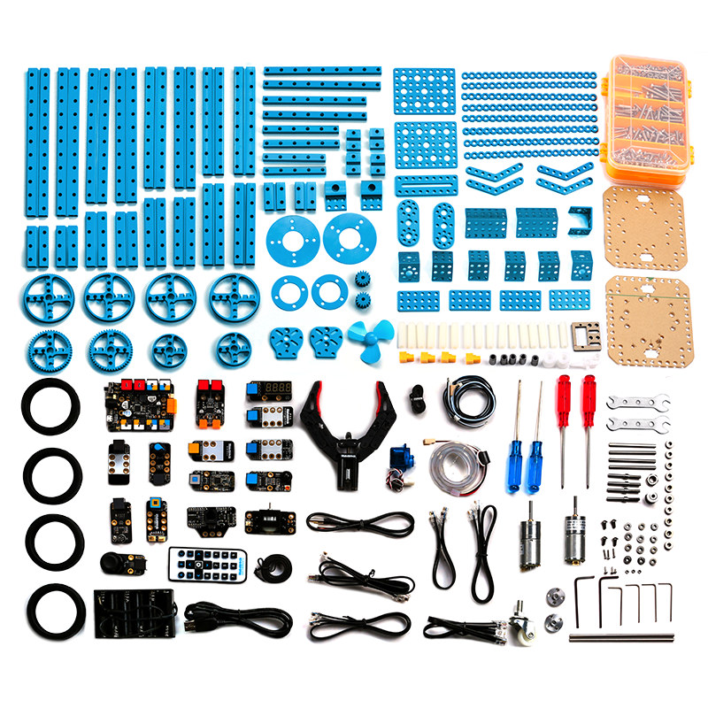 ultimate Advanced Robot Kits Maker diy programmable toys робоконструктор ultimate robot kit makeblock