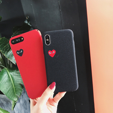 Love CDG Phone Case Cover iPhone 6 6S Plus 7 7 Plus 8 8 Plus X XR XS Max
