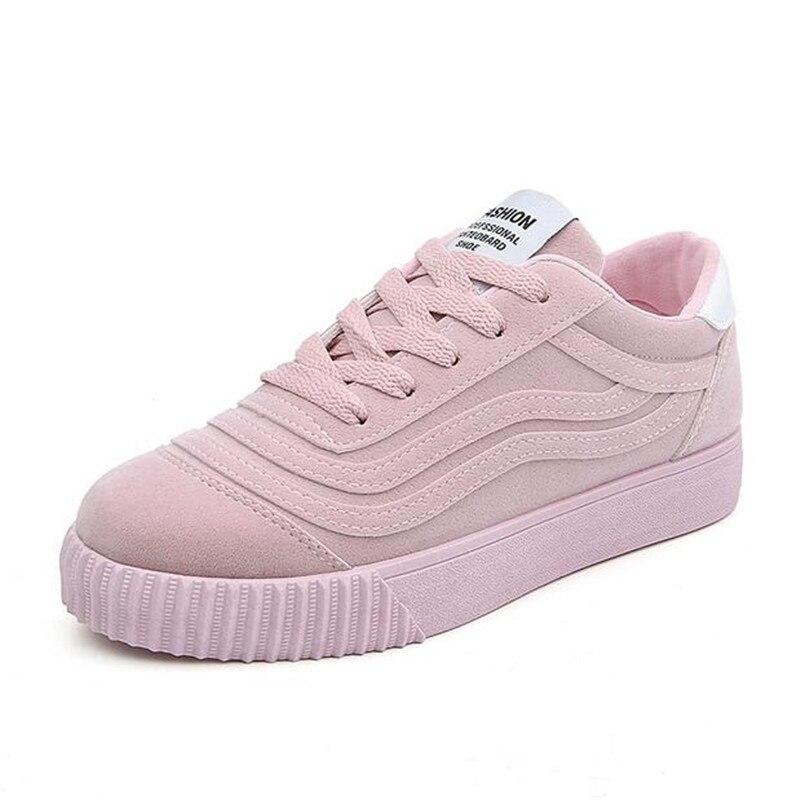 2018 Fashion Women Vulcanize Shoes Casual Shoes Woman Platform Ladies Shoes Sneakers Zapatos Tenis Feminino Size 35-40 XA612 цена