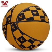 Basketbol 2019 Baloncesto Outdoor Indoor Size 7 PU Fibre Basketball Ball Training Basket Ball Free Gift Basketball Net Needle
