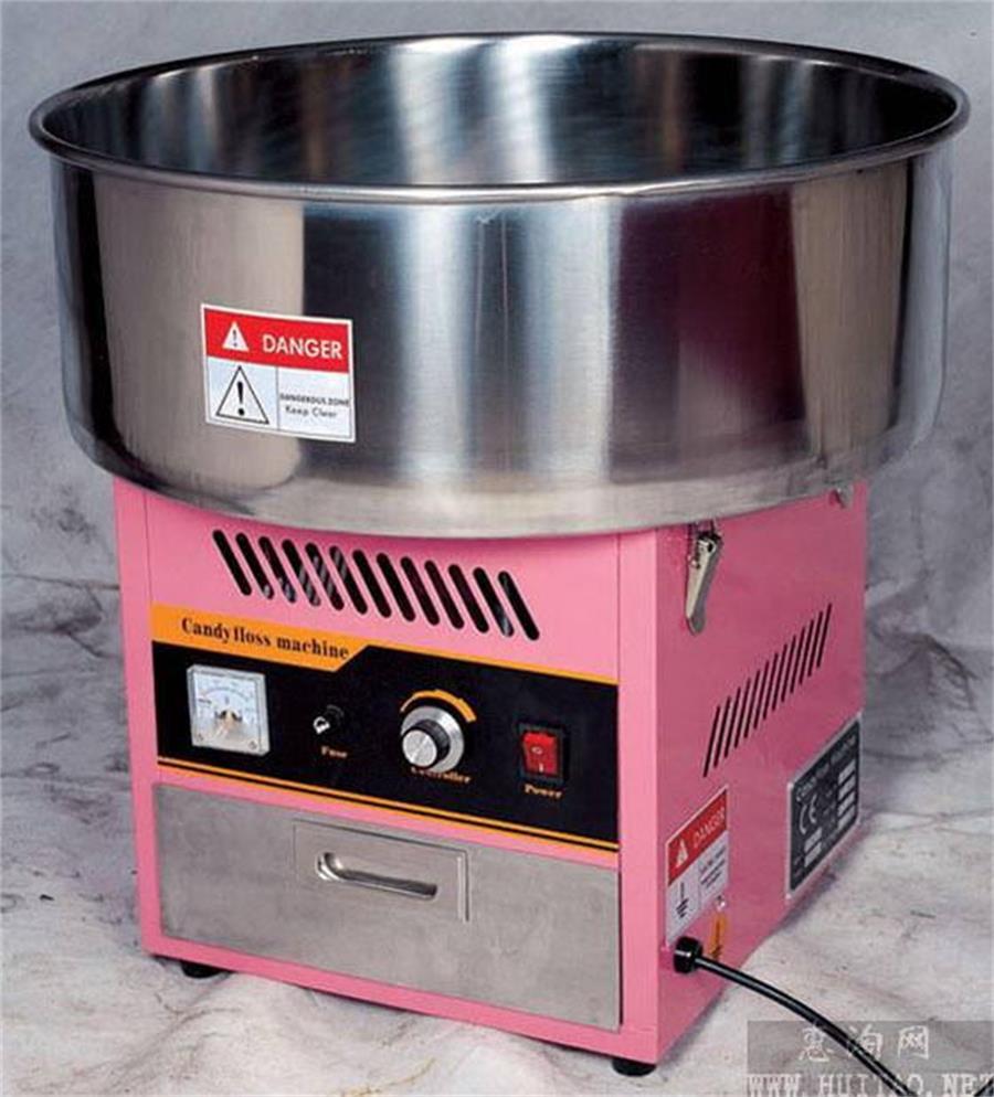 Amplamente Utilizado Bom Preço Comercial Tomada de Algodão Doce Máquina de algodão doce máquina de Algodão Doce Máquina de Floss