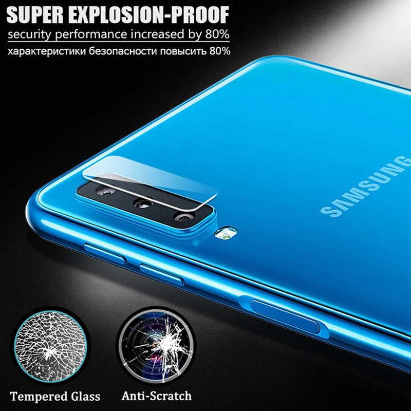 Obiettivo di macchina fotografica di vetro di protezione per per samsung galaxy s10 plus s10e S 10 10e 10 s galaxi protezione dello schermo Morbido tremp Glaess Caso