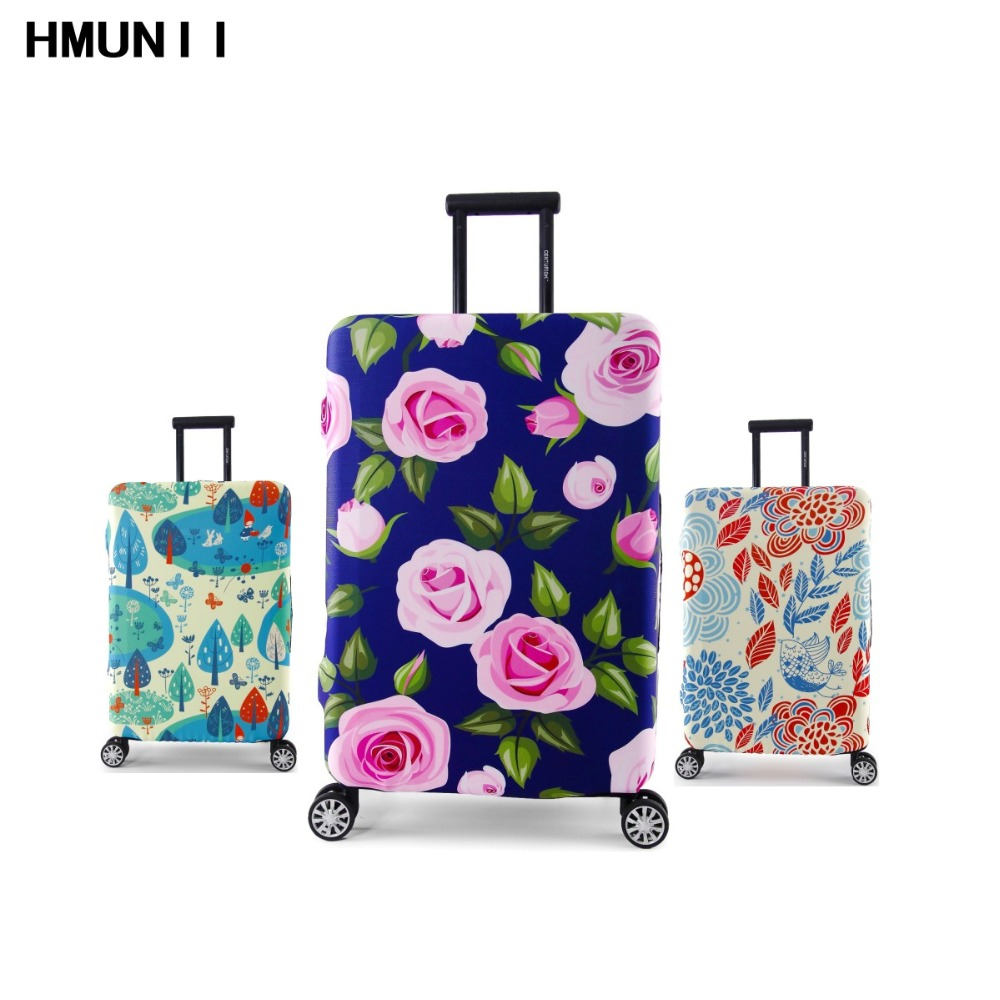 Fashion Thickened Luggages Cover Protective 4 Sizes S M L XL For Trolley Case Elastic Perfectly