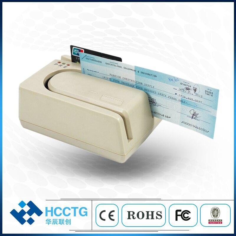 MICR et MSR Lecteur de Chèques Pour UNIX Système-HCC1250