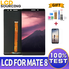 """6.0 """"per Huawei Mate 8 display LCD Touch Screen Digitizer Assembly vetro per Huawei Mate 8 lcd sostituire NXT L29 AL10 L09 CL00"""