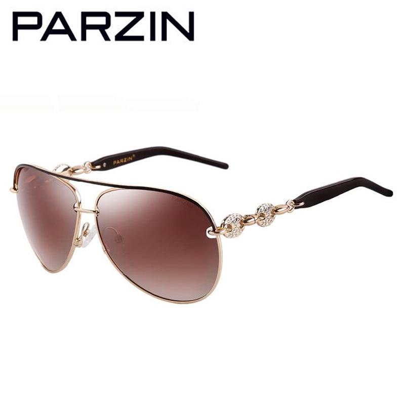 Parzin Handmade Strass Polarisierte Sonnenbrille Frauen Luxus - Bekleidungszubehör - Foto 5