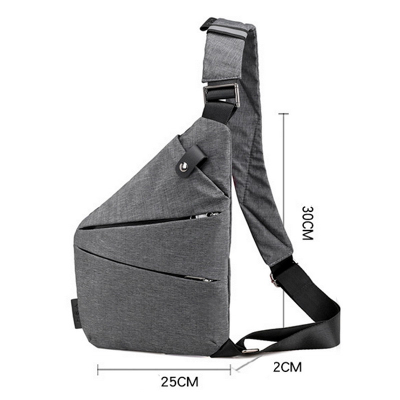 Unisex Underarm Shoulder Bag 5