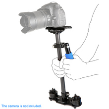 SF-06 Mini Handle Grip Load up to 3Kg Carbon Fiber Video Camera Stabilizer for Canon Nikon Sony Pentax DSLR Camcorder DV